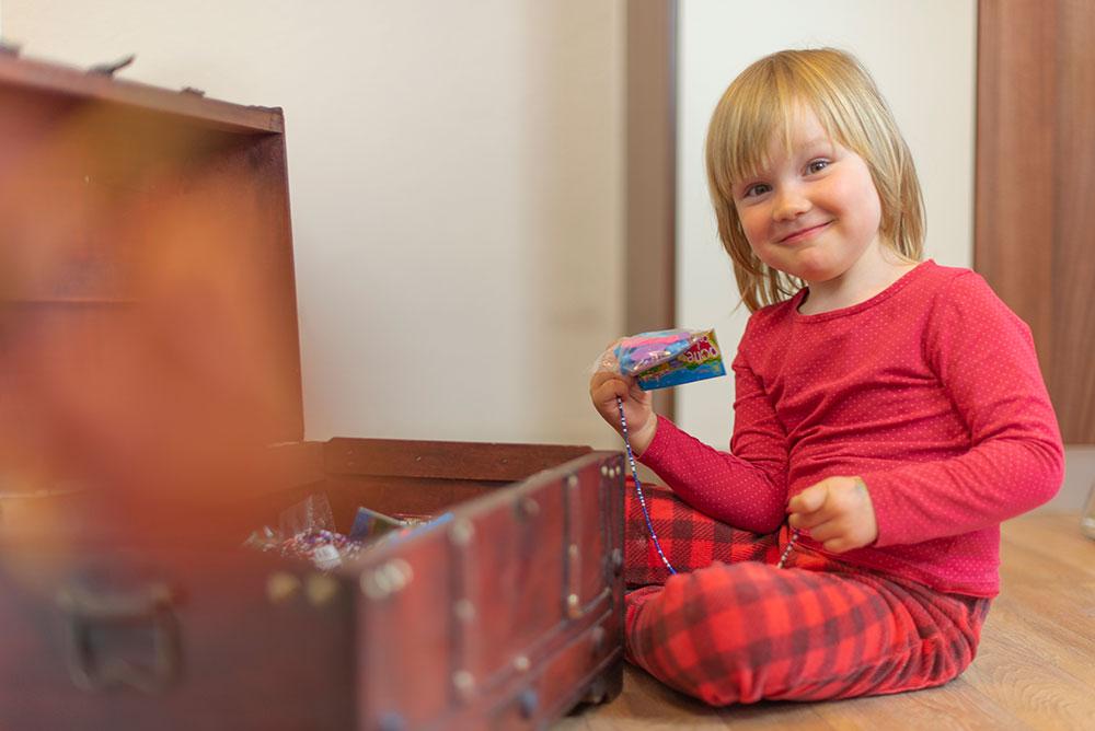 Schatzkiste für Kinder - Zahnarztpraxis in Willich
