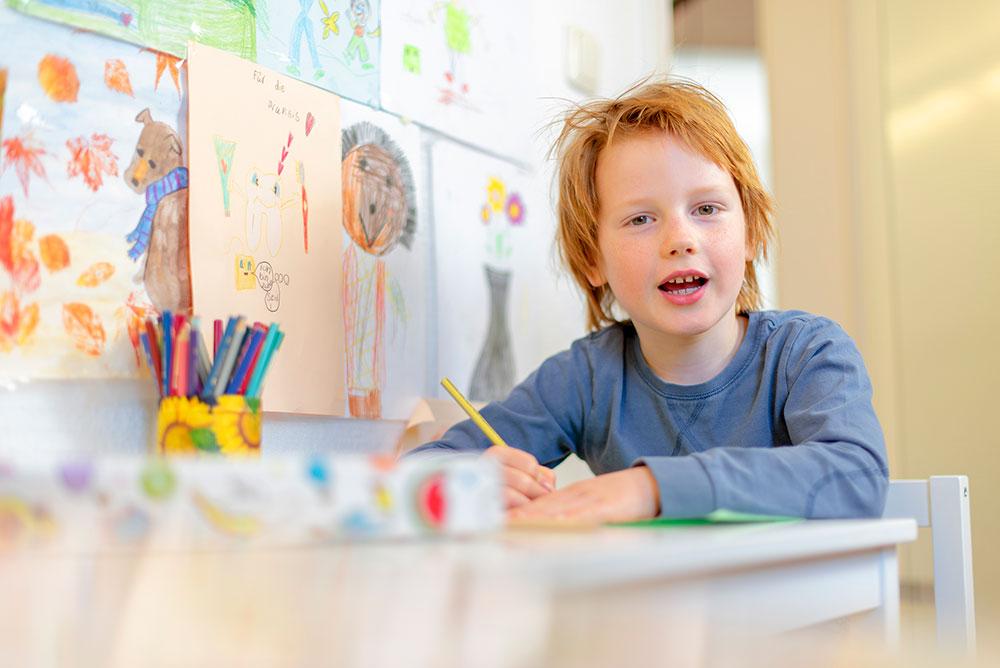 Malen für Kinder - Zahnarztpraxis in Willich Schiefbahn