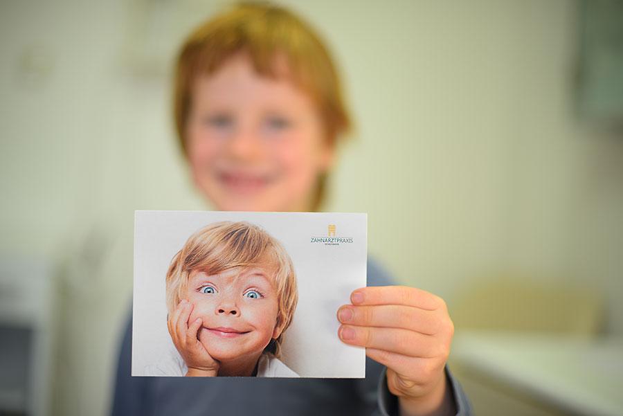 Recallcard Motive - Zahnarztpraxis in Willich Schiefbahn
