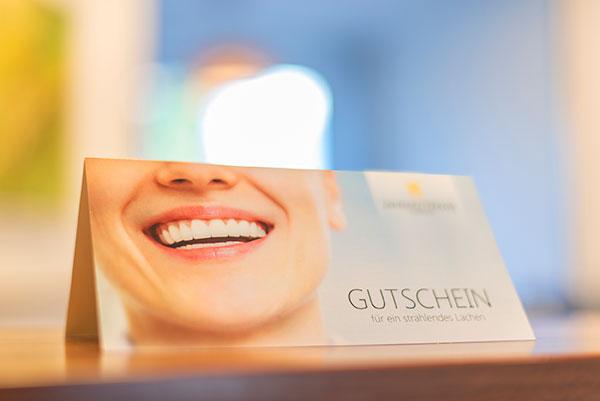 Gutschein - Zahnarztpraxis in Willich Schiefbahn